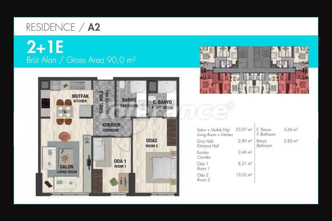 Квартиры класса люкс в Стамбуле в современном комплексе с развитой инфраструктурой в рассрочку - 21150 | Tolerance Homes
