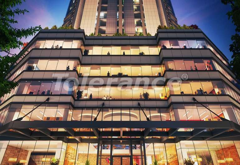 Просторные квартиры в Шишли, Стамбул в современном комплексе с гарантией аренды на 3 года - 7266 | Tolerance Homes