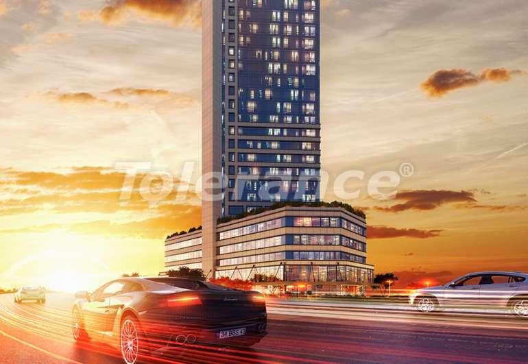 Просторные квартиры в Шишли, Стамбул в современном комплексе с гарантией аренды на 3 года - 7267 | Tolerance Homes