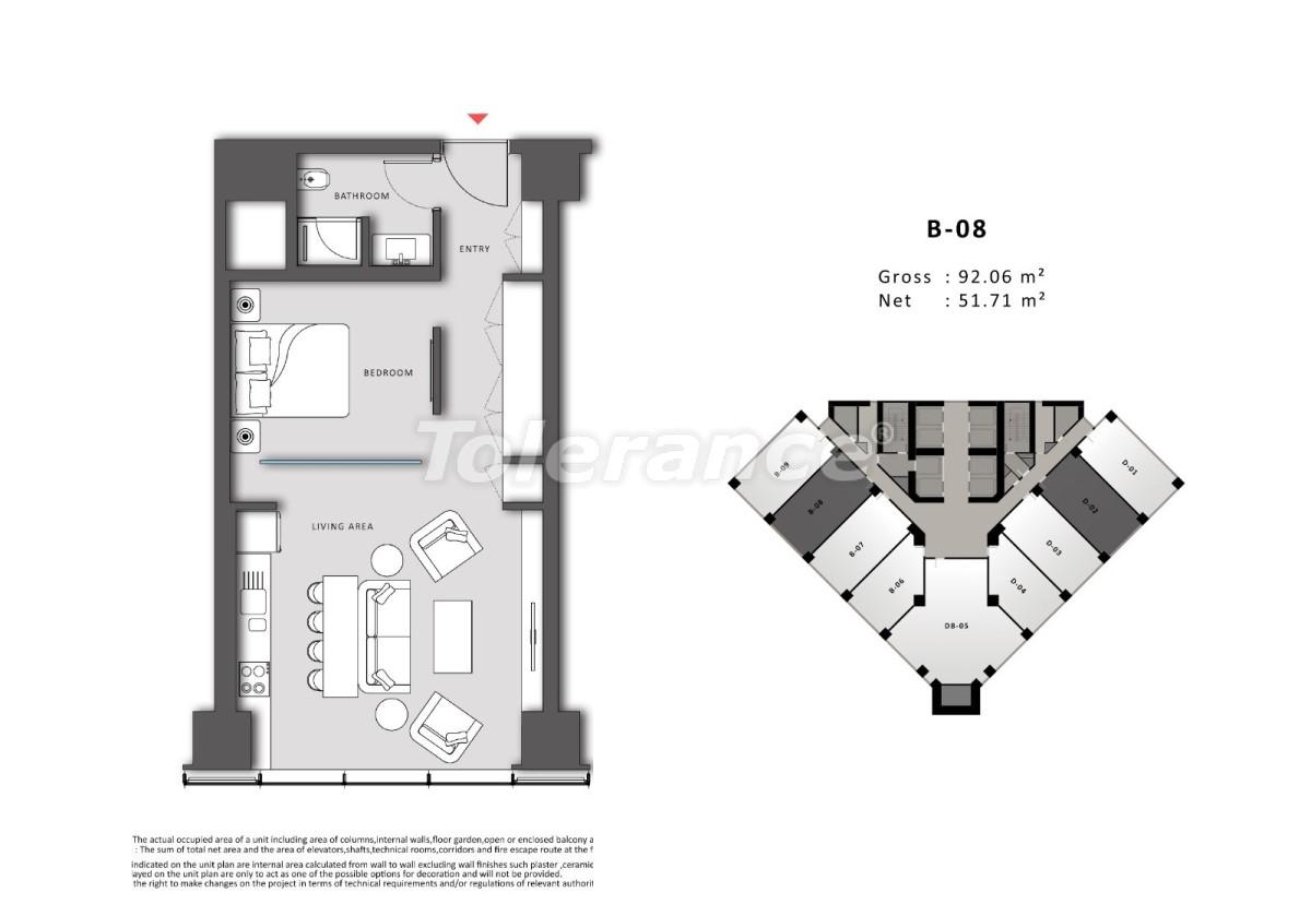 Просторные квартиры в Шишли, Стамбул в современном комплексе с гарантией аренды на 3 года - 24701 | Tolerance Homes