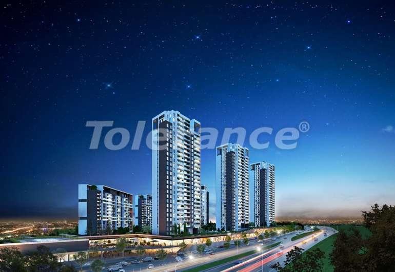 Просторные квартиры в Стамбуле, выгодные для инвестиций, в комплексе рядом с озером - 7434 | Tolerance Homes