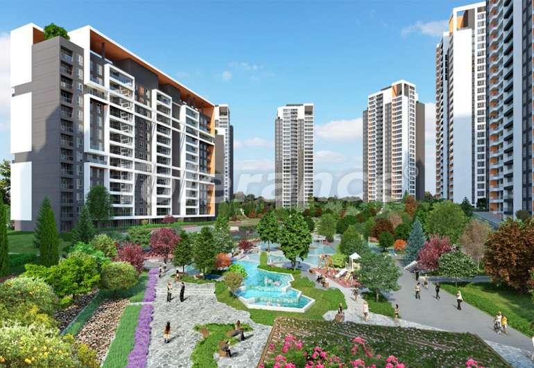 Просторные квартиры в Стамбуле, выгодные для инвестиций, в комплексе рядом с озером - 7442 | Tolerance Homes