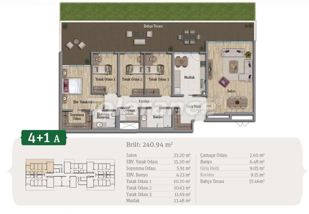 Просторные квартиры в Стамбуле, выгодные для инвестиций, в комплексе рядом с озером - 21655 | Tolerance Homes
