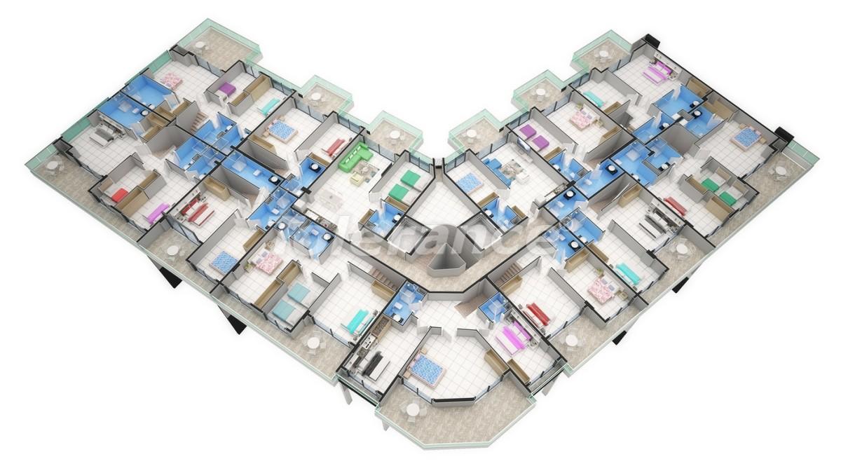 Новый прекрасный комплекс в Каргиджаке - 7802 | Tolerance Homes