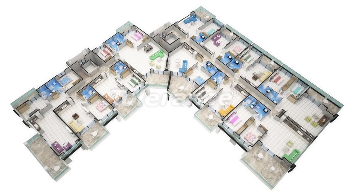 Новый прекрасный комплекс в Каргиджаке - 7803 | Tolerance Homes