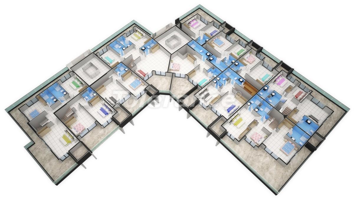 Новый прекрасный комплекс в Каргиджаке - 7806 | Tolerance Homes