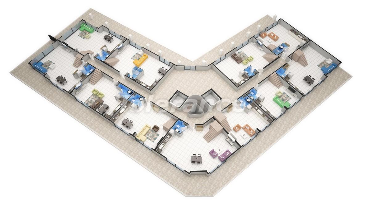 Новый прекрасный комплекс в Каргиджаке - 7801 | Tolerance Homes
