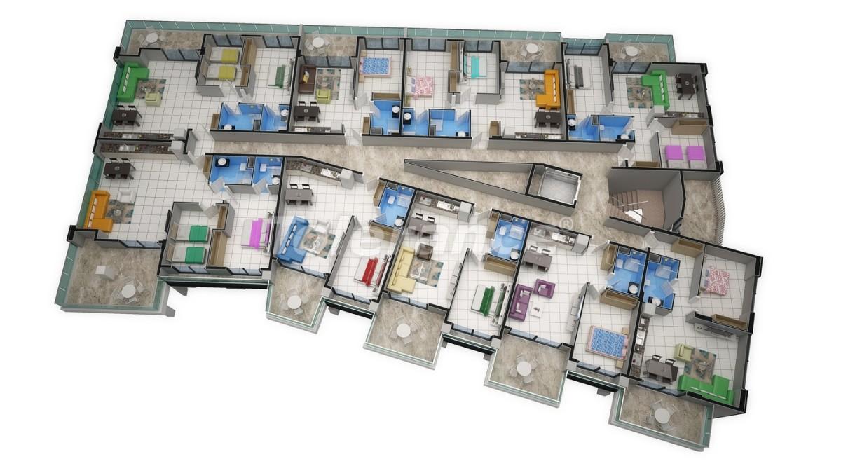 Новый прекрасный комплекс в Каргиджаке - 7809 | Tolerance Homes