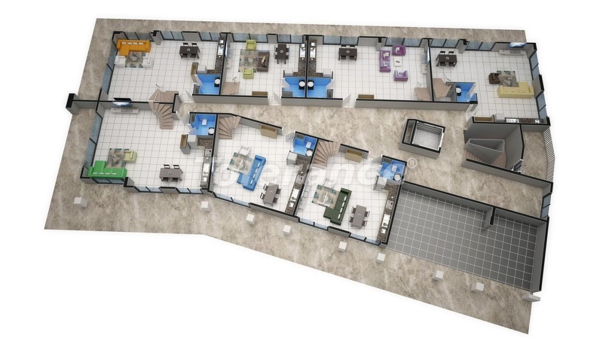 Новый прекрасный комплекс в Каргиджаке - 7810 | Tolerance Homes