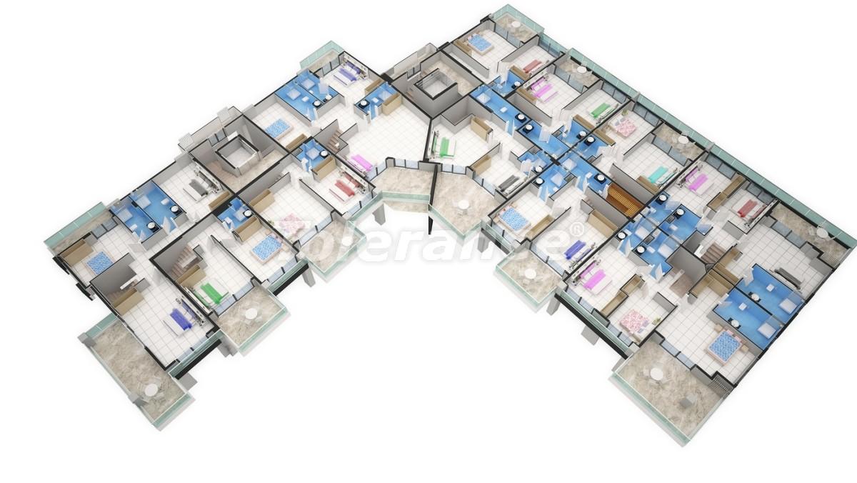 Новый прекрасный комплекс в Каргиджаке - 7807 | Tolerance Homes