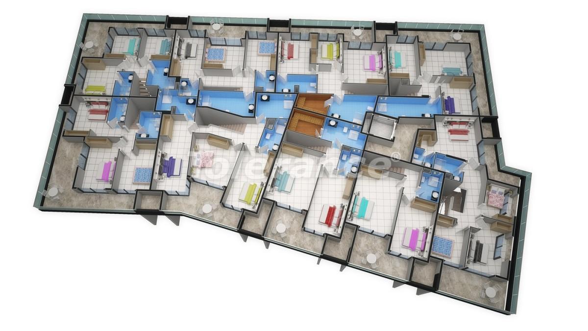 Новый прекрасный комплекс в Каргиджаке - 7812 | Tolerance Homes