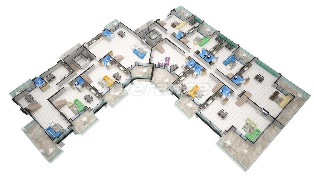 Новый прекрасный комплекс в Каргиджаке - 7804 | Tolerance Homes