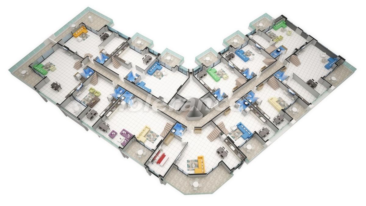 Новый прекрасный комплекс в Каргиджаке - 7799 | Tolerance Homes